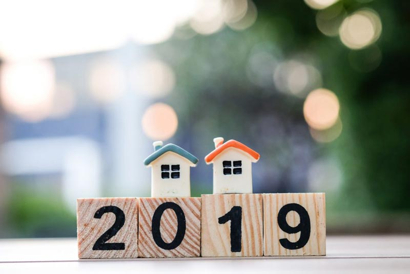 2019 home sales